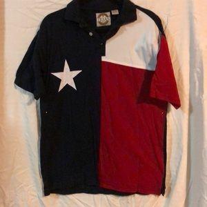 Vintage Texas Flag Polo